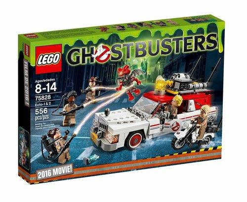 LEGO Ghostbusters Ecto-1 & 2 (75828)