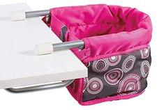 Bayer Chic Puppen-Tischsitz Hot Pink Pearls