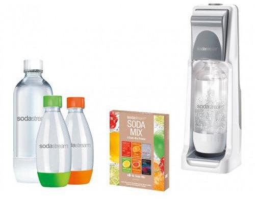 SodaStream Cool Vorteilspack grau