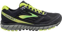 Brooks Ghost 9 black/green/lime punch