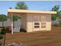 weka Holzbau Designhaus 126 A Gr.2 natur (500 x 300 cm)