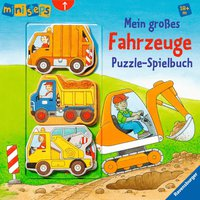 Ravensburger Mein großes Fahrzeuge Puzzle-Spielbuch