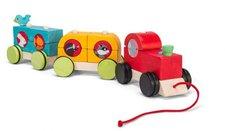 """Le Toy Van Stapel Zug  """"Woodland Express """""""