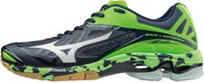 Mizuno Wave Lightning Z2 dress blues/white/green gecko