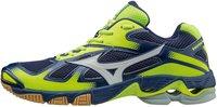 Mizuno Wave Bolt 5 twilight blue/white/safety yellow