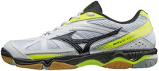 Mizuno Wave Hurricane 2 white/black/safety yellow