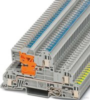 Phoenix Contact Installationsetagenklemme UTI 2,5-PE/L/NT 24A 400V grau