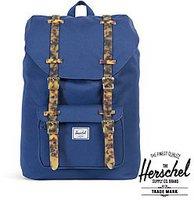 Herschel Little America Mid-Volume Backpack twilight blue/tortoise shell rubber
