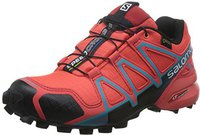 Salomon Speedcross 4 GTX Women coral punch/black/blue jay