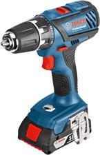 Bosch GSR 18-2-LI Plus Professional (2 x 2,0 Ah + Bit-Set)