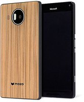 Mozo Lumia 950 XL BackCover Zebra Holz
