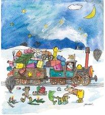 Little Tiger Janoschs Adventskalender Weihnachtsexpress