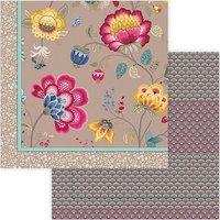PIP Floral Fantasy 220x265cm khaki