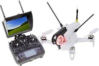 Walkera Rodeo 150 FPV Race Copter weiß RTF + FPV-Monitor