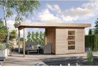 weka Holzbau Designhaus 172 B Gr. 1 natur (530 x 239 cm)
