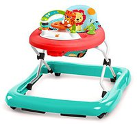 Bright Starts Babywalker Walk-A-Bout Roaming Safari