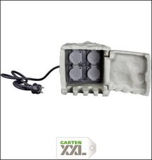 insatech 4-fach Energieverteiler Stein