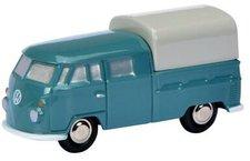 Schuco Piccolo VW T1 Doppelkabine blau (450557000)