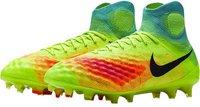 Nike Magista Obra II FG volt/total orange/pink blast/black