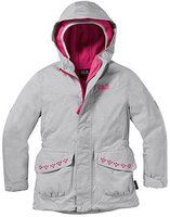 Jack Wolfskin Snowy Trail Girls Grey Heather