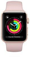 Apple Watch Series 2 Aluminium roségold mit Sportarmband rosa