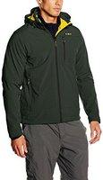 CMP Campagnolo Man Softshell Jacket Zip Hood (3A40537) Leaf/Zolfo