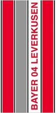 Bertels Duschtuch Senkrechtstreifen Bayer 04 Leverkusen (70x140cm)