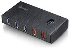 Akasa 7 Port USB 3.0 Hub (AK-HB-14BKCM)