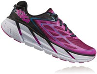 Hoka Clifton 3 Women anthracite/neon fuchsia