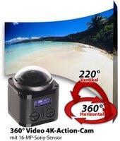 Somikon 360Grad 4K-Action-Cam
