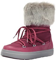 Crocs Women's LodgePoint Lace Boot pomegranate