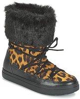 Crocs Women's LodgePoint Lace Boot leopard/black