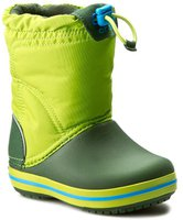 Crocs Kids Crocband LodgePoint Boot lime/forest green