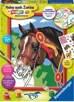 Ravensburger Malen nach Zahlen Pferd beim Reitturnier