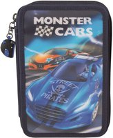 Depesche 3-fach Federtasche Monster Cars 3D  (8971A)