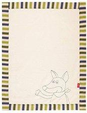 sigikid Decke Fudallo Fox 100 x 75 cm