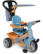 Feber Baby Plus Dreirad mit Musik blau orange
