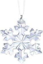 Swarovski Weihnachtsornament Jahresausgabe Schneeflocken 2016