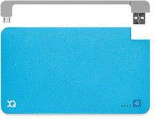 XQISIT Power Bank 5000 mAh microUSB blau