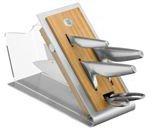 WMF Chef's Edition Asia-Messerblock 5 tlg.