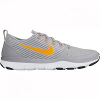 Nike Free Train Versatility wolf grey/bright citrus/white/black