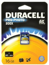 Duracell SDHC Pro Photo 16GB Class 10 (DU-SD1016G-C)
