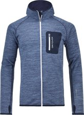 Ortovox Merino Fleece Melange Hoody night blue blend