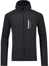 Ortovox Merino Fleece Melange Hoody black blend
