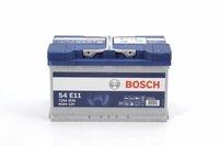 Bosch Automotive S4 E11 12V 80Ah (0 092 S4E 110)