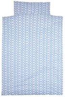 Alvi Bettwäsche (100 x 135) Wolke blau (40120/653-1)