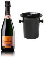 Veuve Clicquot Vintage Rosé 2004 mit Champagnerkühler 0,75l