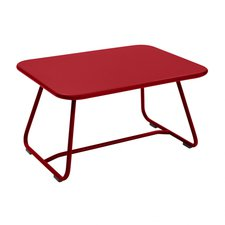 Fermob Sixties Niedriger Tisch 75,5 x 55,5 cm Mohnrot