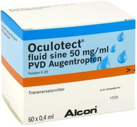 Alcon Oculotect Fluid sine PVD Augentropfen (60 x 0,4 ml)