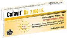 Cefak Cefavit D3 7.000 I.E. Filmtabletten (20 Stk.)
